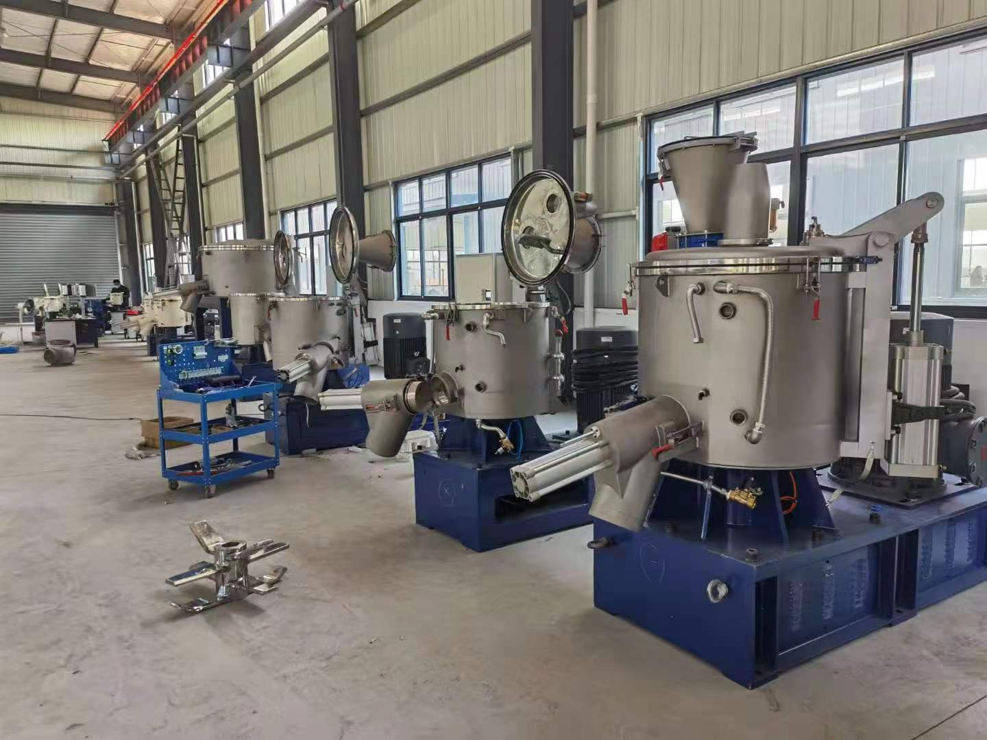 Explosion Resistant High Speed High Speed Bonding Mixer