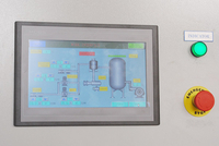 HMI and PLC operated based control cabinet