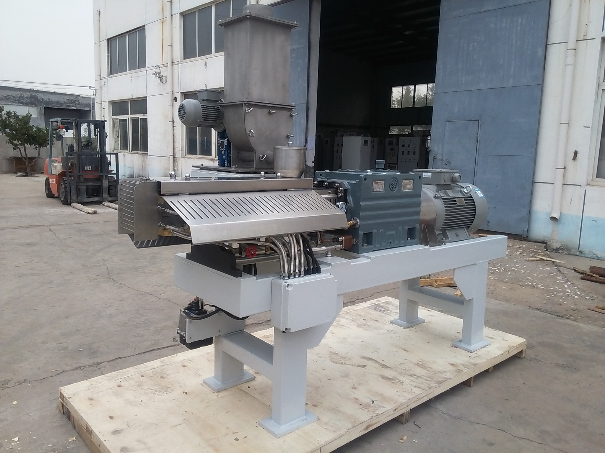 Single Screw Specific Food Processing Twin Screw Extruder