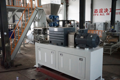 Torque Limiter Compound Food Processing Twin Screw Extruder